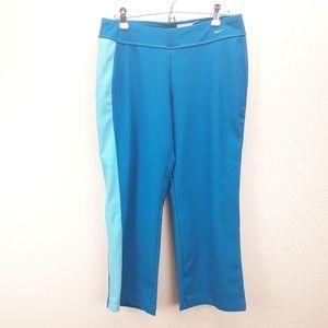 Nike blue cropped pants size M (8-10)